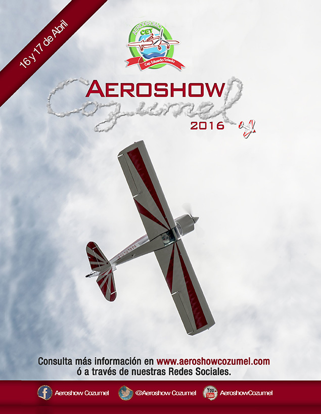 AeroShow Cozumel edición 2016